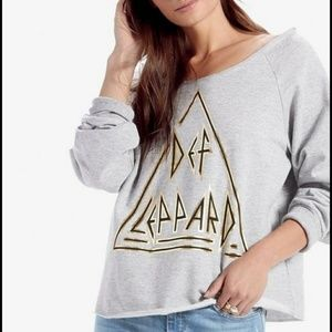 Lucky Brand Def Leppard Sweatshirt